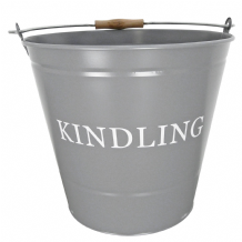 Kindling Bucket - Grey